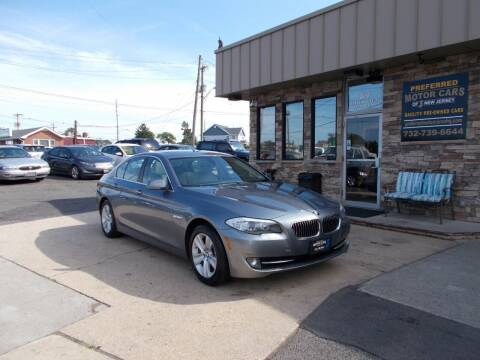 2012 BMW 5 Series for sale at Preferred Motor Cars of New Jersey in Keyport NJ