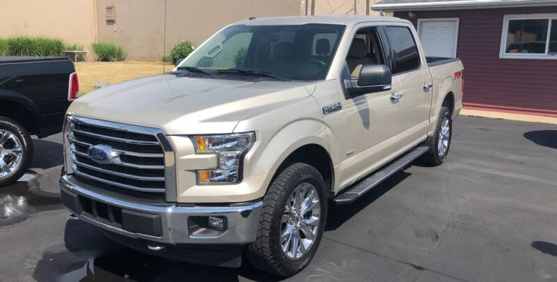 2017 Ford F-150 for sale at N & J Auto Sales in Warsaw IN