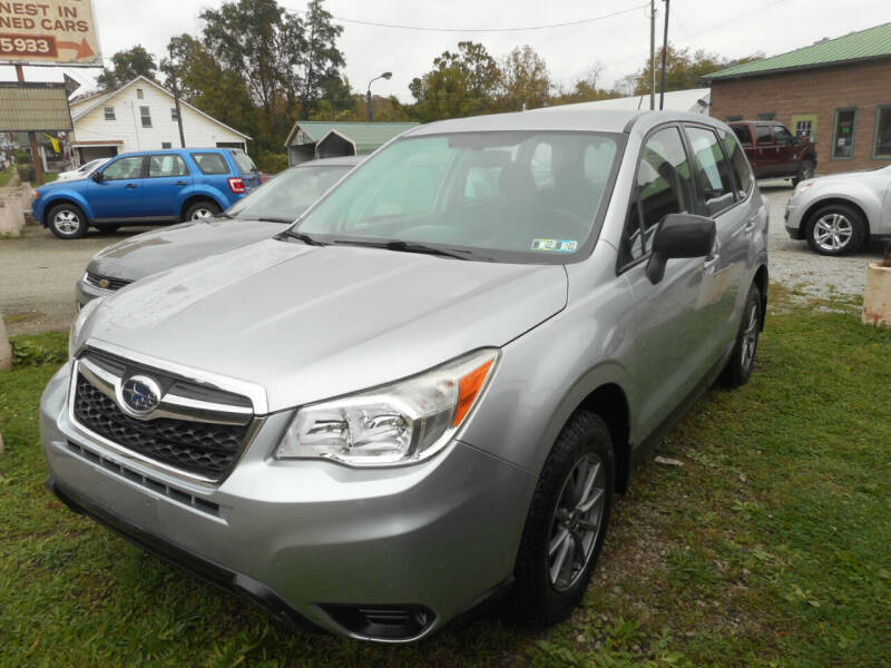 2014 Subaru Forester for sale at Sleepy Hollow Motors in New Eagle PA