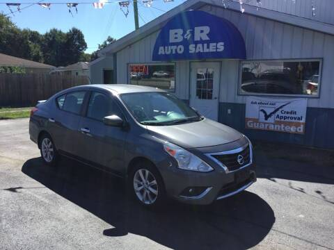 2016 Nissan Versa for sale at B & R Auto Sales in Terre Haute IN
