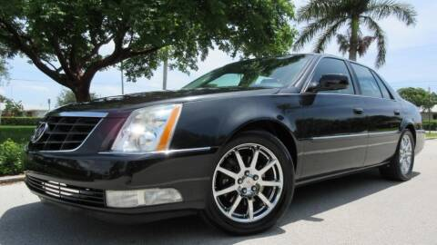2008 Cadillac DTS for sale at DS Motors in Boca Raton FL