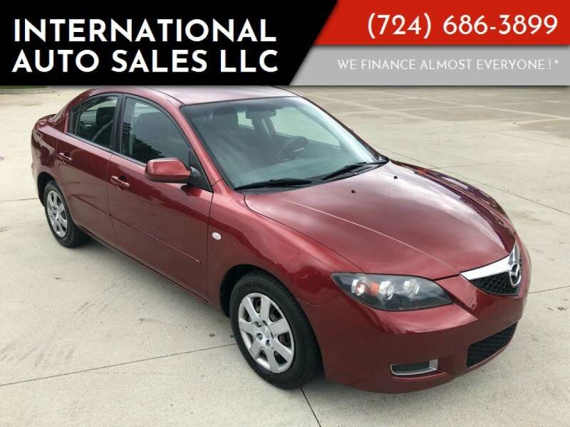 2008 Mazda MAZDA3 for sale at INTERNATIONAL AUTO SALES LLC in Latrobe PA