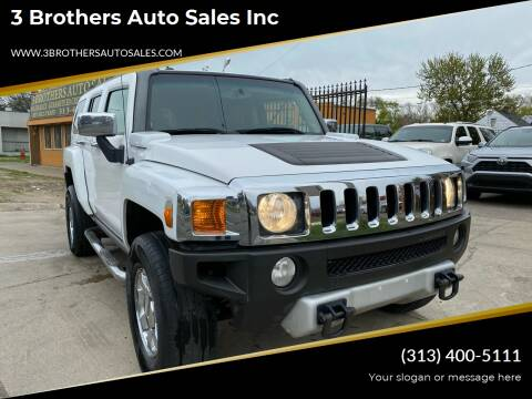 2008 HUMMER H3 for sale at 3 Brothers Auto Sales Inc in Detroit MI