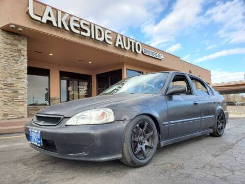 2000 Honda Civic for sale at Lakeside Auto Brokers Inc. in Colorado Springs CO