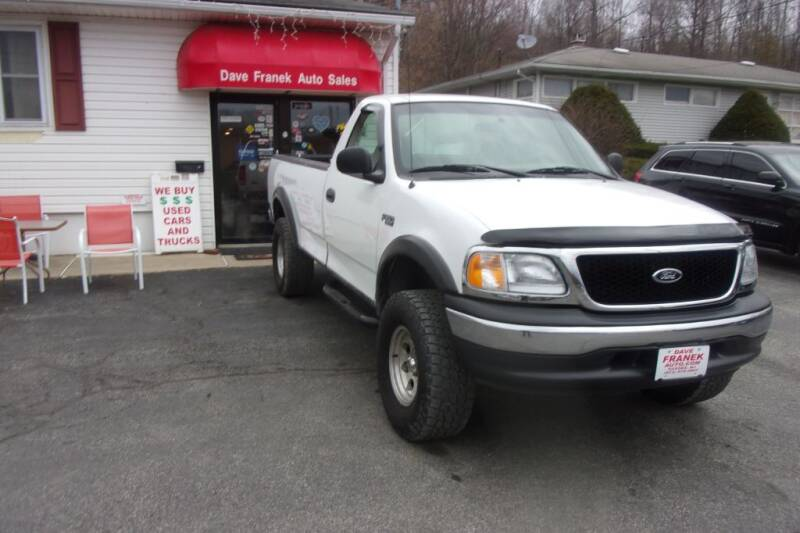 2001 Ford F-150 for sale at Dave Franek Automotive in Wantage NJ