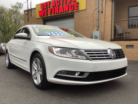 2013 Volkswagen CC for sale at Active Auto Sales Inc in Philadelphia PA