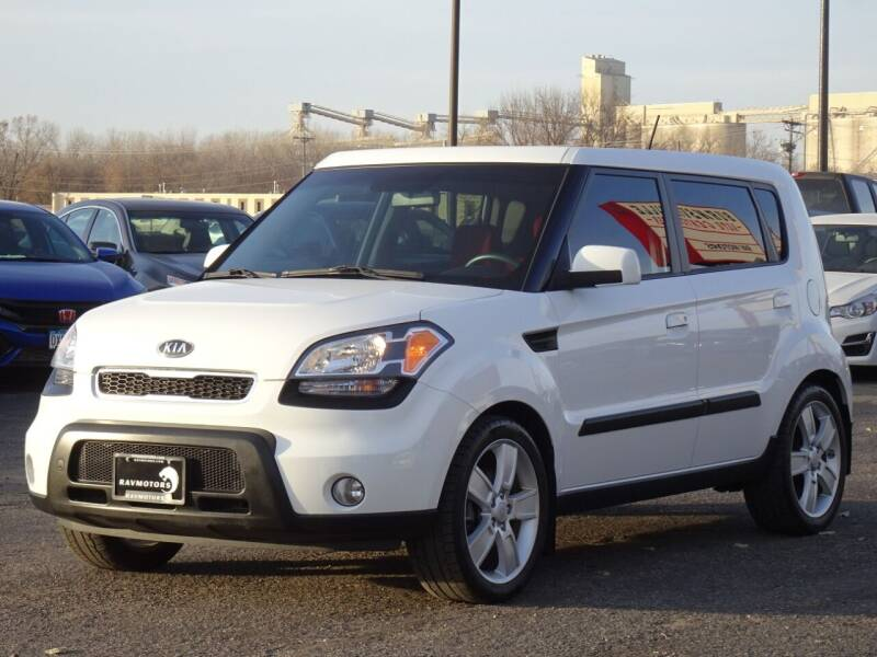 2010 Kia Soul for sale at RAVMOTORS in Burnsville MN