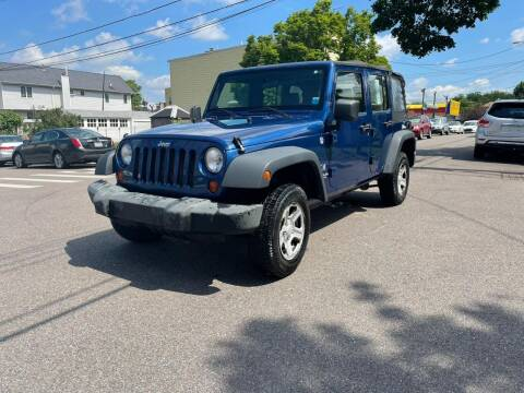 2009 Jeep Wrangler Unlimited for sale at Kapos Auto, Inc. in Ridgewood NY