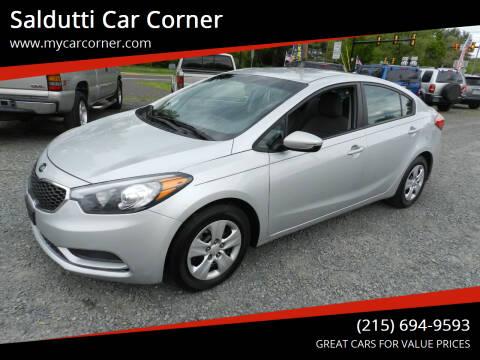 2015 Kia Forte for sale at Saldutti Car Corner in Gilbertsville PA