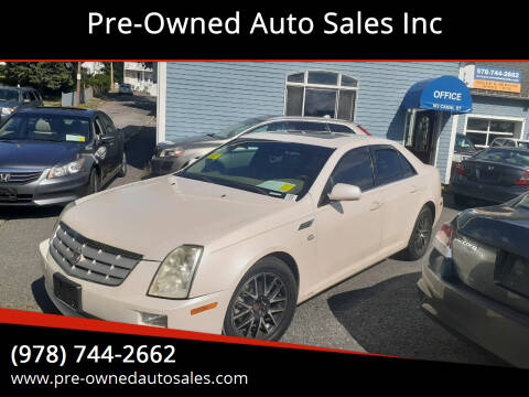 2005 Cadillac STS for sale at Pre-Owned Auto Sales Inc in Salem MA