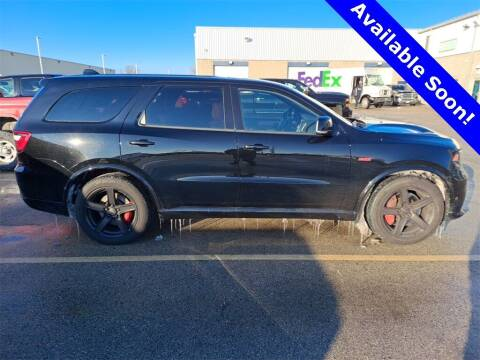 2018 Dodge Durango for sale at LENZ TRUCK CENTER in Fond Du Lac WI