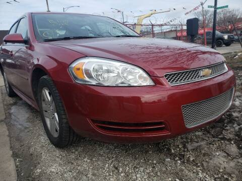 2014 Chevrolet Impala Limited for sale at WEST END AUTO INC in Chicago IL