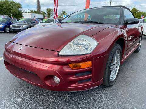 2004 Mitsubishi Eclipse Spyder for sale at KD's Auto Sales in Pompano Beach FL