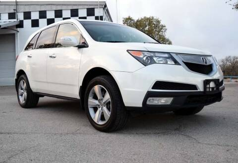2011 Acura MDX for sale at BriansPlace in Lipan TX