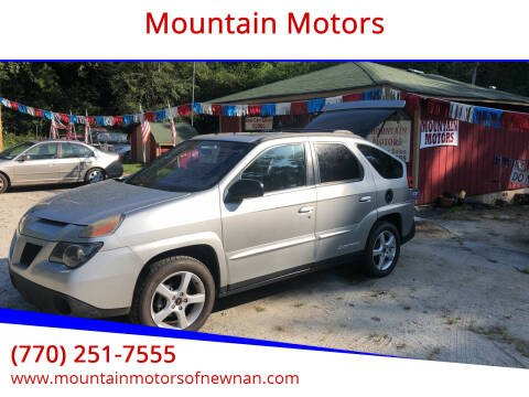 2005 Pontiac Aztek for sale at Mountain Motors in Newnan GA