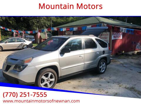 2005 Pontiac Aztek for sale at Mountain Motors in Newnan GA