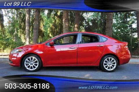 2013 Dodge Dart for sale at LOT 99 LLC in Milwaukie OR