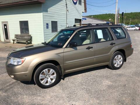 2008 Subaru Forester for sale at Superior Auto Sales in Duncansville PA