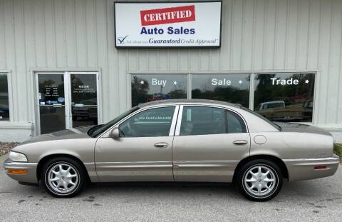 2000 Buick Park Avenue for sale at Certified Auto Sales in Des Moines IA
