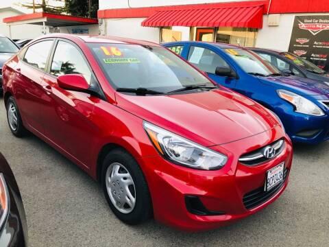 2016 Hyundai Accent for sale at Auto Max of Ventura in Ventura CA