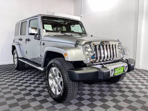 2015 Jeep Wrangler Unlimited for sale at Sunset Auto Wholesale in Tacoma WA