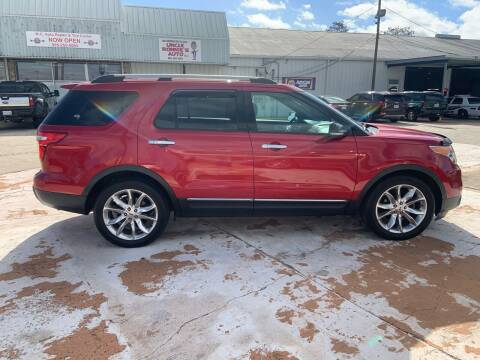 2012 Ford Explorer for sale at Uncle Ronnie's Auto LLC in Houma LA