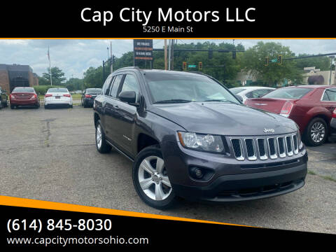 2016 Jeep Compass for sale at Cap City Motors LLC in Columbus OH