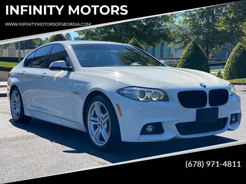 2015 BMW 5 Series for sale at INFINITY MOTORS in Gainesville GA