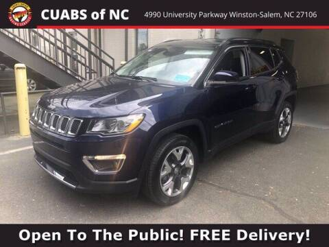 2018 Jeep Compass for sale at Credit Union Auto Buying Service in Winston Salem NC
