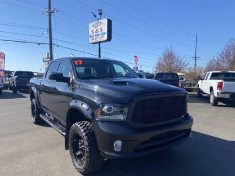 2017 RAM Ram Pickup 1500 for sale at S&S Best Auto Sales LLC in Auburn WA