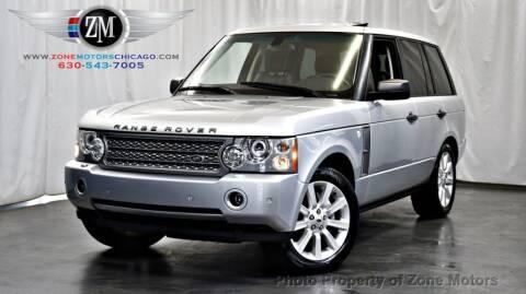 2008 Land Rover Range Rover for sale at ZONE MOTORS in Addison IL