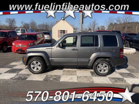2012 Jeep Liberty for sale at FUELIN FINE AUTO SALES INC in Saylorsburg PA