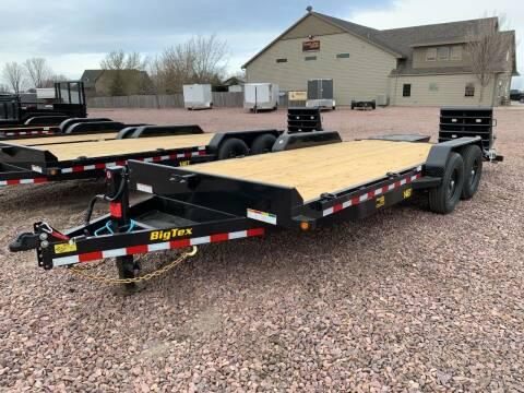 2021 Big Tex 14ET-20 Mega Ramp #9553 for sale at Prairie Wind Trailers, LLC in Harrisburg SD