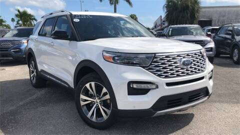 2020 Ford Explorer for sale at Your First Vehicle in Miami FL