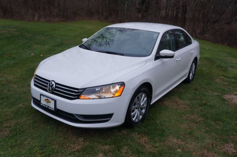 2014 Volkswagen Passat for sale at Autos By Joseph Inc in Highland NY