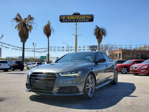2017 Audi A6 for sale at A MOTORS SALES AND FINANCE in San Antonio TX