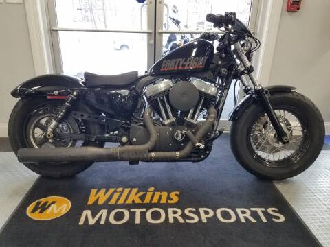 2012 Harley-Davidson Sportster Forty-Eight for sale at WILKINS MOTORSPORTS in Brewster NY