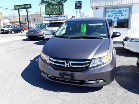 2015 Honda Odyssey for sale at Automotive Fleet Sales in Lemoyne PA