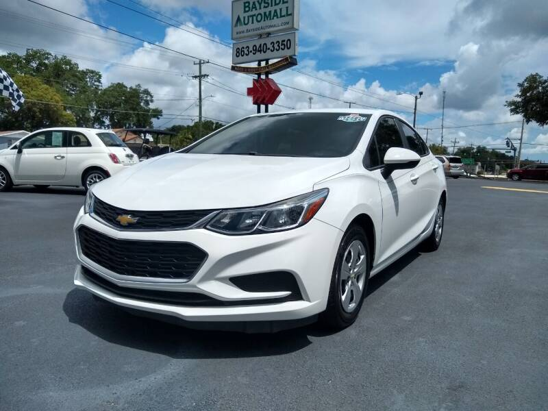 2016 Chevrolet Cruze for sale at BAYSIDE AUTOMALL in Lakeland FL