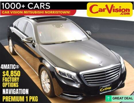 2015 Mercedes-Benz S-Class for sale at Car Vision Buying Center in Norristown PA