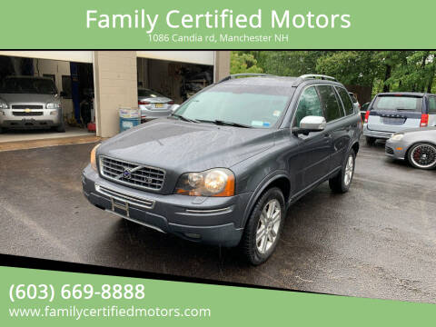 2008 Volvo XC90 for sale at Family Certified Motors in Manchester NH