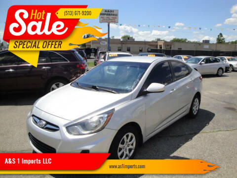 2014 Hyundai Accent for sale at A&S 1 Imports LLC in Cincinnati OH