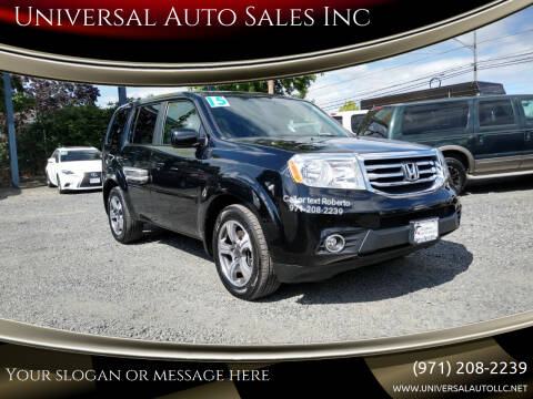 2015 Honda Pilot for sale at Universal Auto Sales Inc in Salem OR