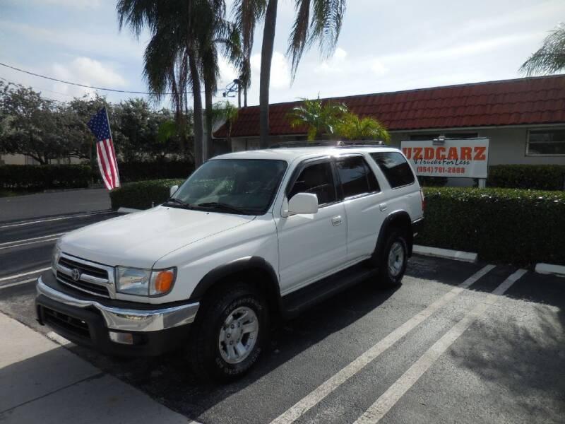 2000 Toyota 4Runner for sale at Uzdcarz Inc. in Pompano Beach FL