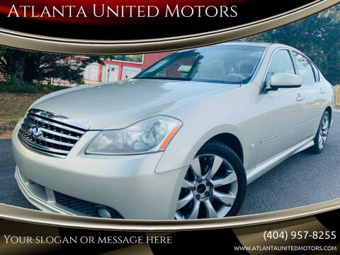 2006 Infiniti M35 for sale at Atlanta United Motors in Buford GA