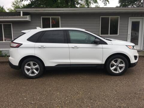 2018 Ford Edge for sale at Winwood Auto Sales in Farwell MI