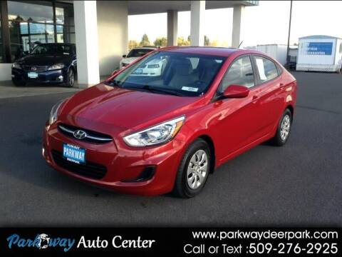 2016 Hyundai Accent for sale at PARKWAY AUTO CENTER AND RV in Deer Park WA