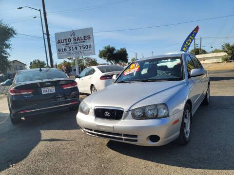 2001 Hyundai Elantra for sale at A1 Auto Sales in Sacramento CA