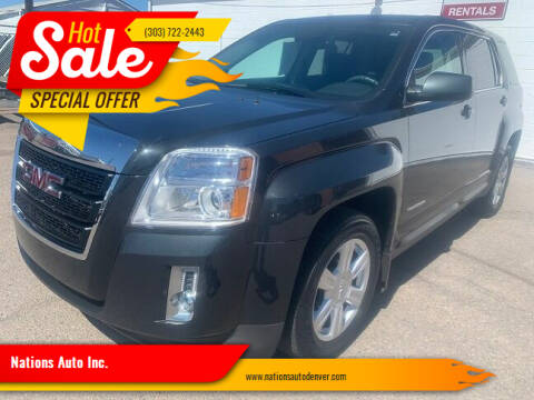 2014 GMC Terrain for sale at Nations Auto Inc. in Denver CO