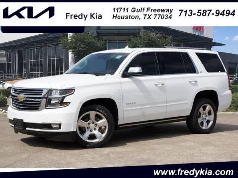 2015 Chevrolet Tahoe for sale at FREDY KIA USED CARS in Houston TX